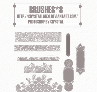 brushes*8 by Crystallanxi