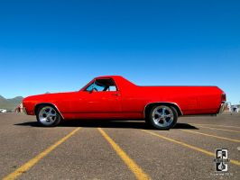 Red El Camino by Swanee3