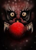 Christmas horror by Eyocore