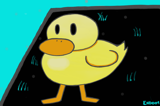Undertale a friendly duck by End001
