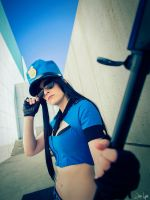 Officer Caitlyn from League of Legends by SNTP