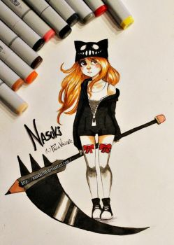 Nasuki Brave - copic markers by Nasuki100