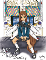 Keyen destiny-comic cover by RoseRei