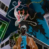 spiderman and Dr who (tenth doctor) by danny2069