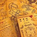 Inked Adventures Map and Dice Cards by billiambabble