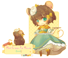 :NEMU: Mint Cream Pie Mouse [CLOSED] by Chuuchichu