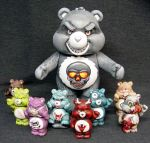 Killer Care Bear Family 1 by Undead-Art