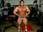 Isaac Huge Pumped Mass And No Man Meat by roidedmusclefan