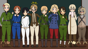 Hetalia exports part 1~ by Artsy-Kitsune