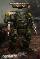 St. Ives Expeditionary Group Jagermech Ogre II by Viereth