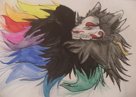 Soul -Art Trade with Kitsune-Kori- by Canis-Sum