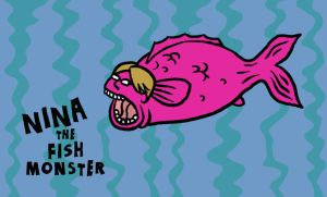 nina the fish monster 2 by muzski