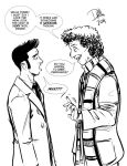 NAC Sketch: The Two Doctors by DougHills