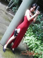 Ada Wong Cosplay by TeaMazaki