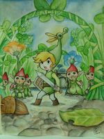 The Legend of Zelda: The Minish Cap~ by haritte