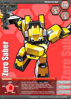 CB Fan Cards -Zero Saber- by Rom-Stol