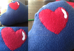 Heart Cloud Cushion by smudge-92