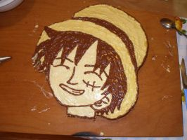 Luffy cake by MrsLuffy07