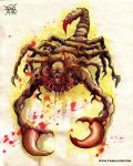 scorpion monster by FASSLAYER