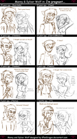 MH: Manny and Sylver Comic by KPenDragon
