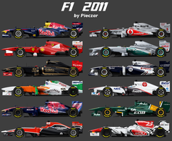 F1 2011 by pieczaro