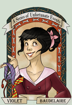 Violet Baudelaire by AninhaT-T