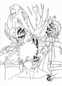 Line art by HassanT