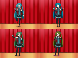 Jokerized Hatunse Miku Part 1 by Firingwall