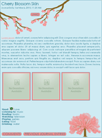 Cherry Blossom Skin by moonfreak