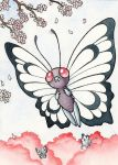 012 Butterfree (ACEO) by squizzlenut