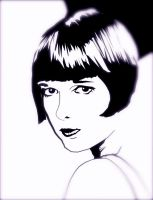 Louise Brooks by IxDarkestHourxI