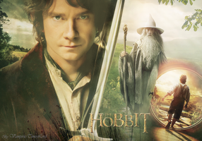 The Hobbit Wallpaper by Vampiric-Time-Lord