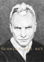 Sting by drawingsbynatalia
