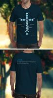 Laminin T-Shirt Template by loswl