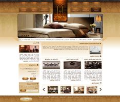 Furniture Website Design by ahmedelzahra
