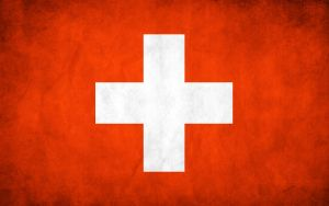 Switzerland Grunge Flag by think0