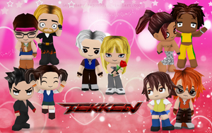 Tekken BuddyPoke by LegendaryDragon90
