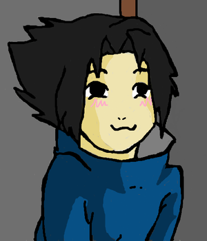 cute sasuke by Mariannj