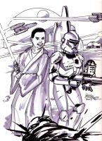 Star Wars Characters by jamesdawsey