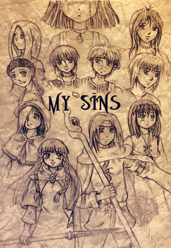 My Sins - Old Page by Karechan
