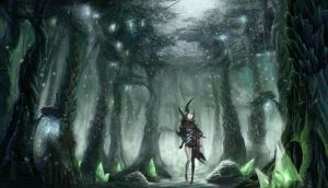 Aion Ranger deep in the forest by django23