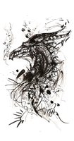 Disintegration of a Wish Dragon by 1pen