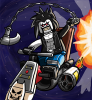 Lego Lobo by Catanas192