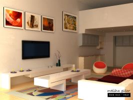 3d interior by purcosm