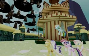 The Great Dalek Invasion Part 1: Ponyville by FezWearingDoctor