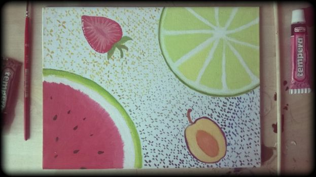 [Fruits] Painting by ErmineDev
