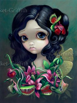 Carnivorous Bouquet Fairy by jasminetoad