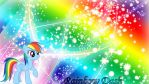 Rainbow Dash Wallpaper by lendaclue