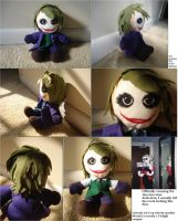 Joker Plushie by Allegra-the-Neko