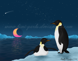 Emperor Penguins for Kyle's Daughter by Kimi-Parks